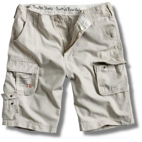 Surplus Raw Vintage Trooper Military Style Combat Cargo Shorts  Thumbnail 6