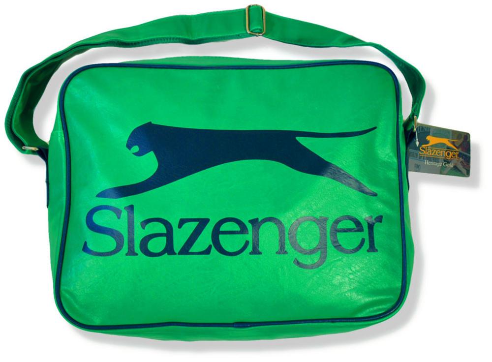 42a7a04a62 Slazenger Shoulder Flight Sports Satchel Bag Green