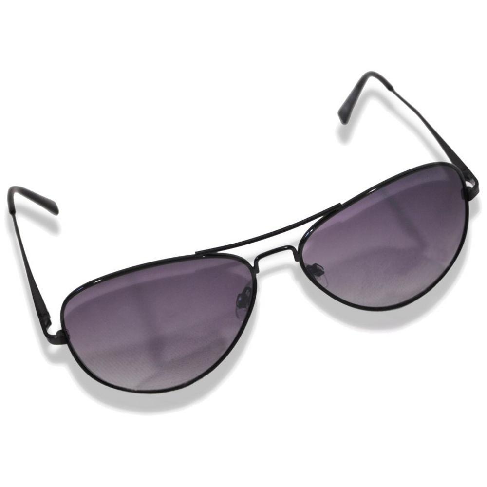 1121521c05 Classic Retro 70 s Tinted Teardrop Aviator Sunglasses Black