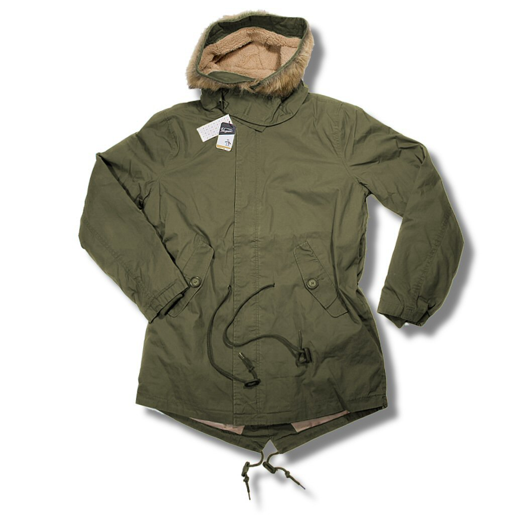Original Penguin Mod 60's Fur Hooded US Army M65 Style Fishtail ...