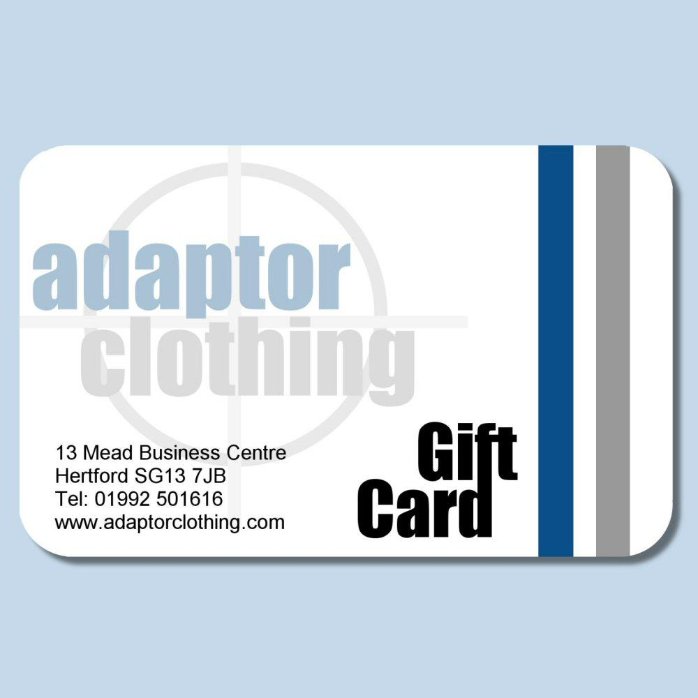 Adaptor Clothing Gift Card