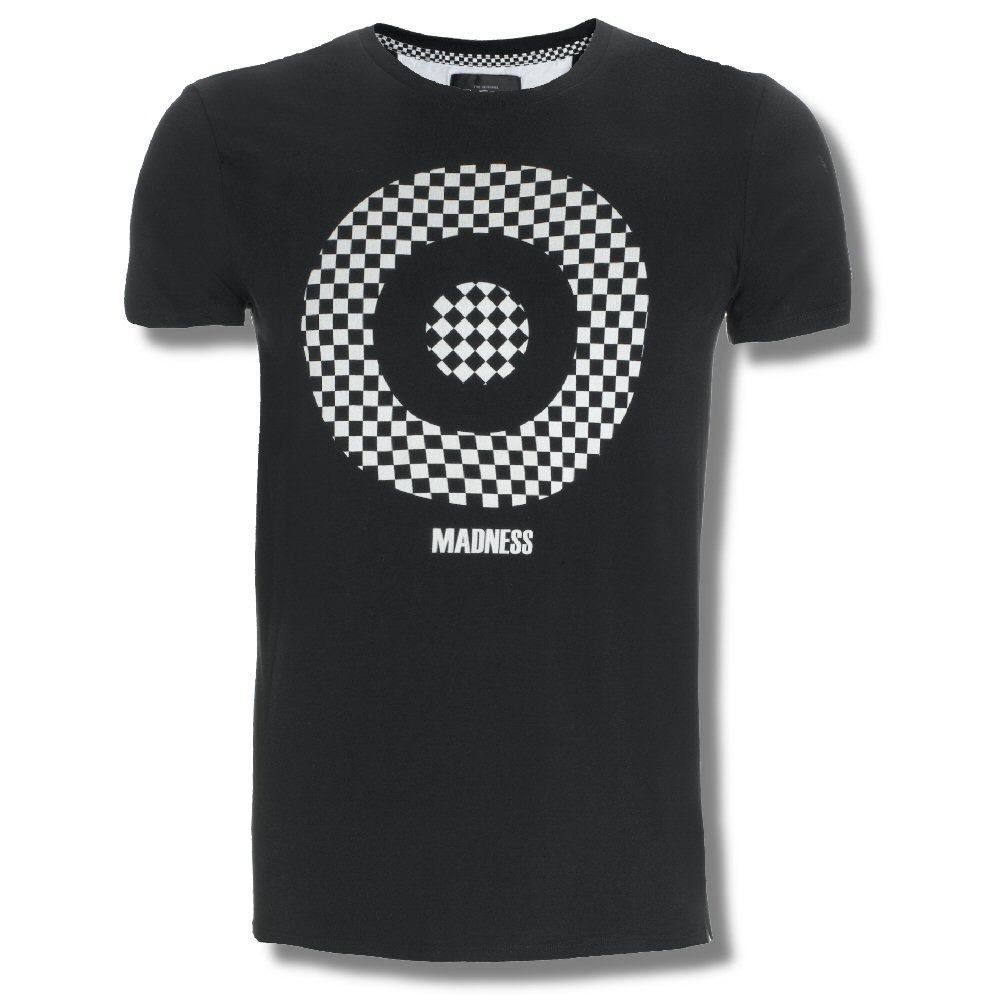 Black t shirt target - Ben Sherman Ltd Edition Mod Skin Ska Madness Checkered Target T Shirt Black Xl