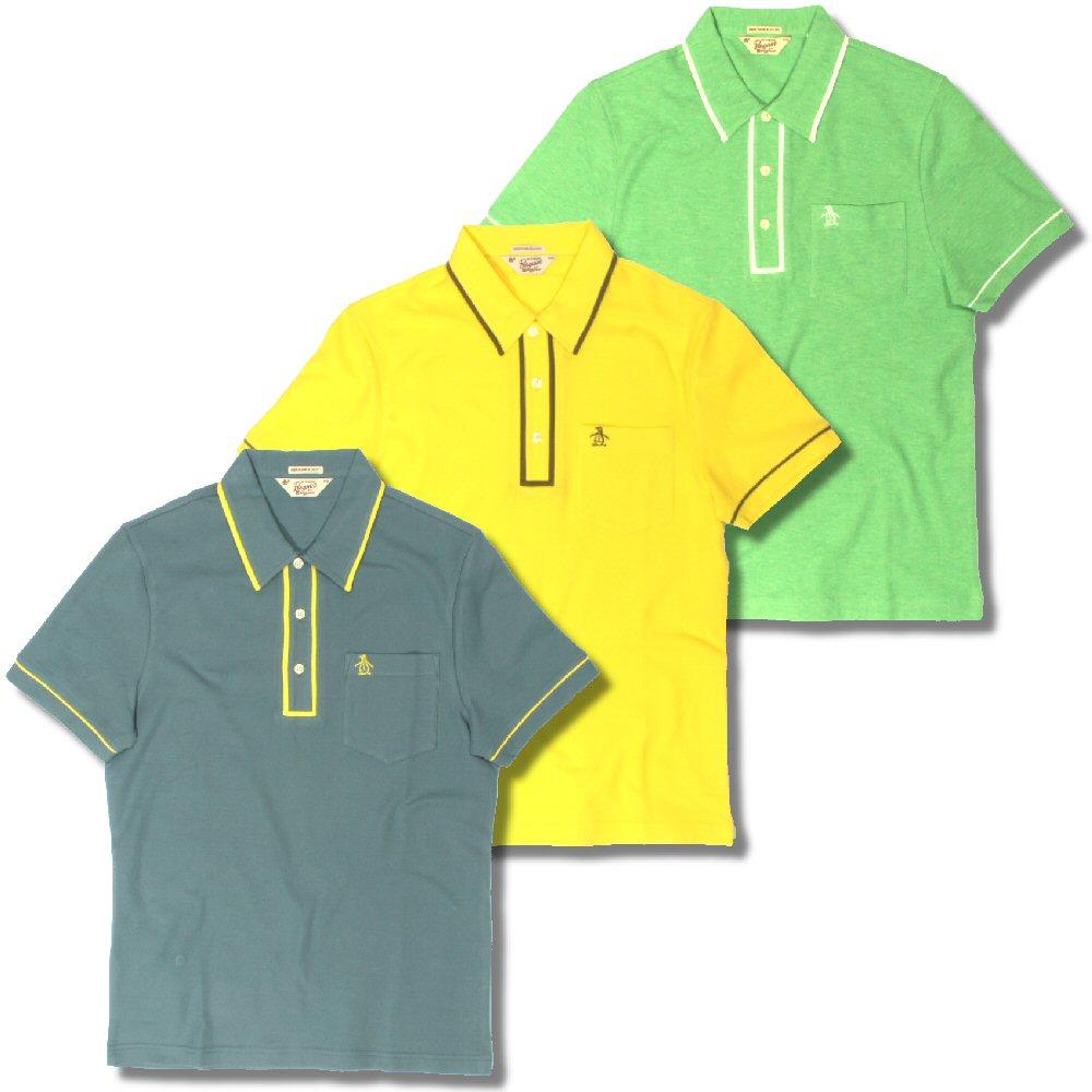 bdb34db5 Original Penguin Tipped Placket Pique S/S Slim Earl Summer Polo Shirts  Thumbnail 1 ...
