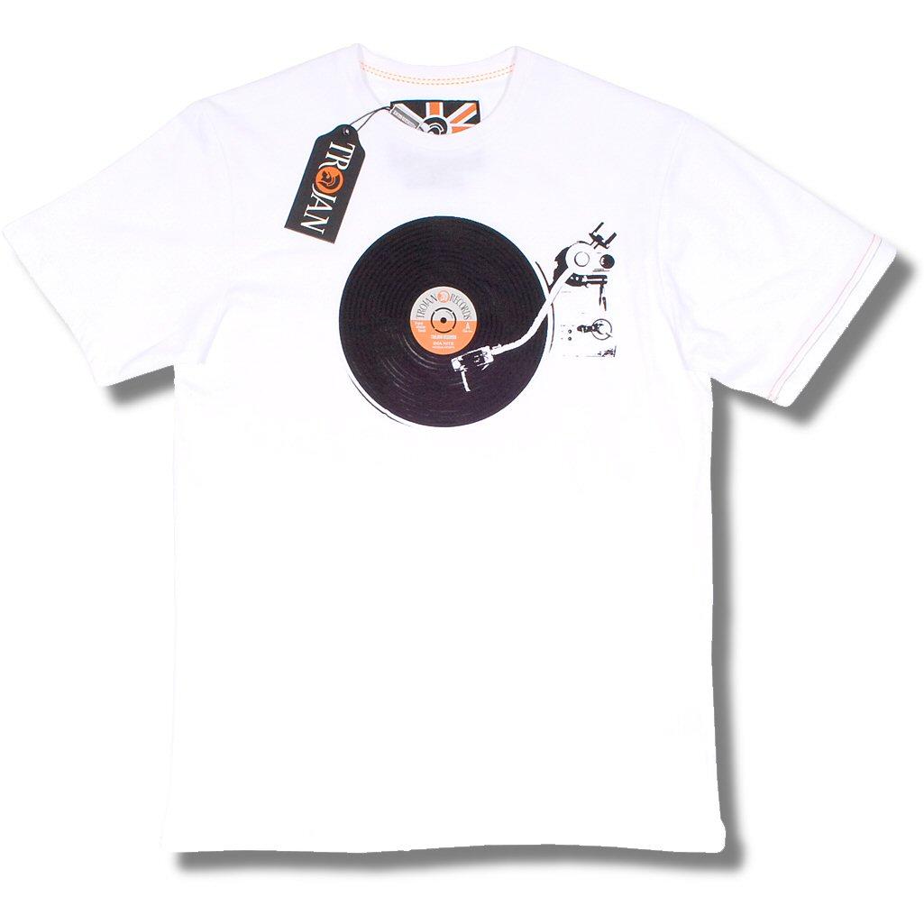 Lambretta Trojan Records Ska Vinyl Lp Turntable Motif Crew