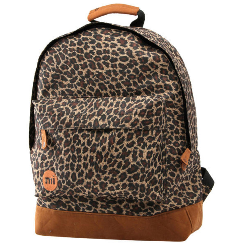 2dec4e9044d2 Mi-Pac Mipac Mi pac Backpack Rucksac Bag All Leopard Print | Adaptor  Clothing
