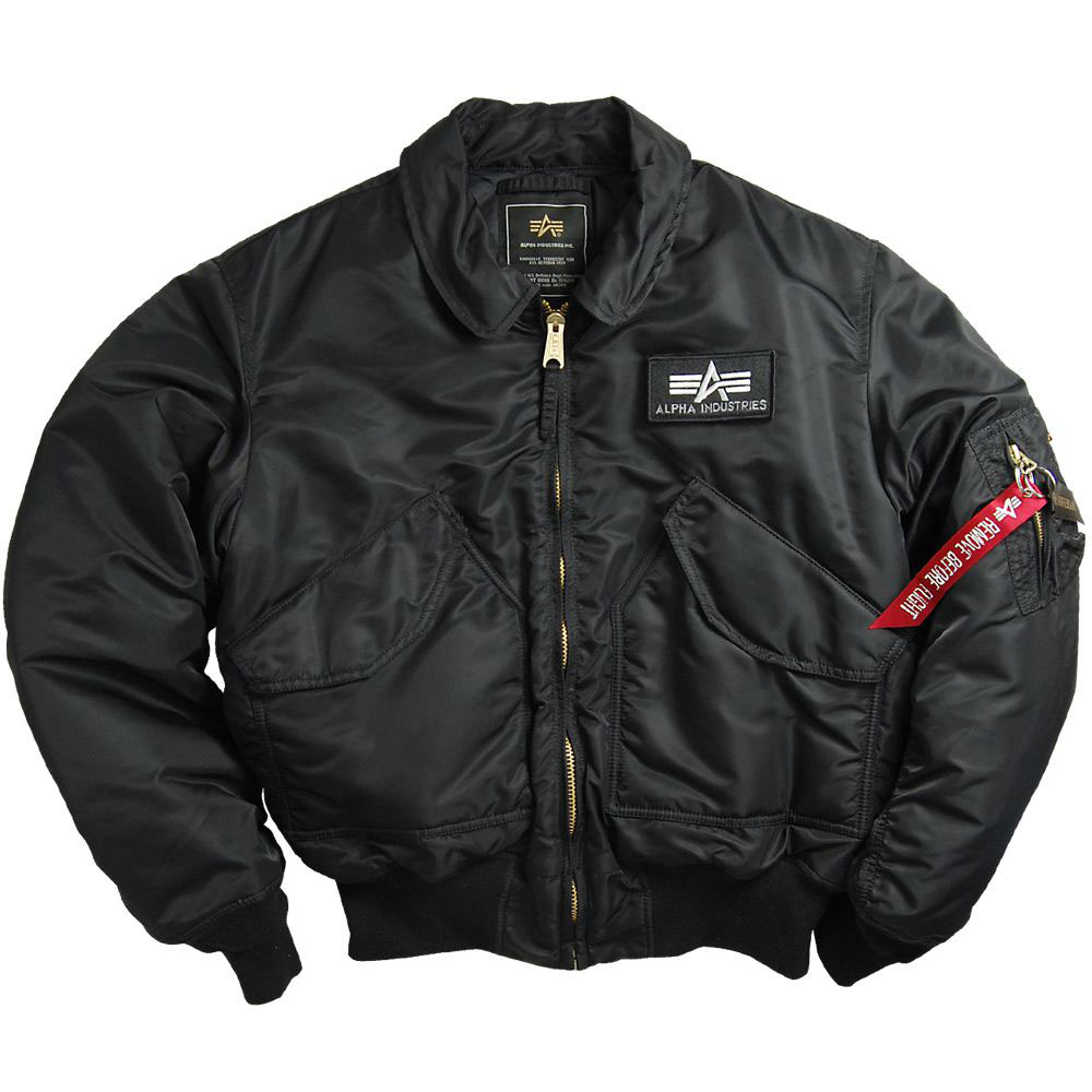 alpha industries cwu 45 flight pilot bomber jacket black. Black Bedroom Furniture Sets. Home Design Ideas