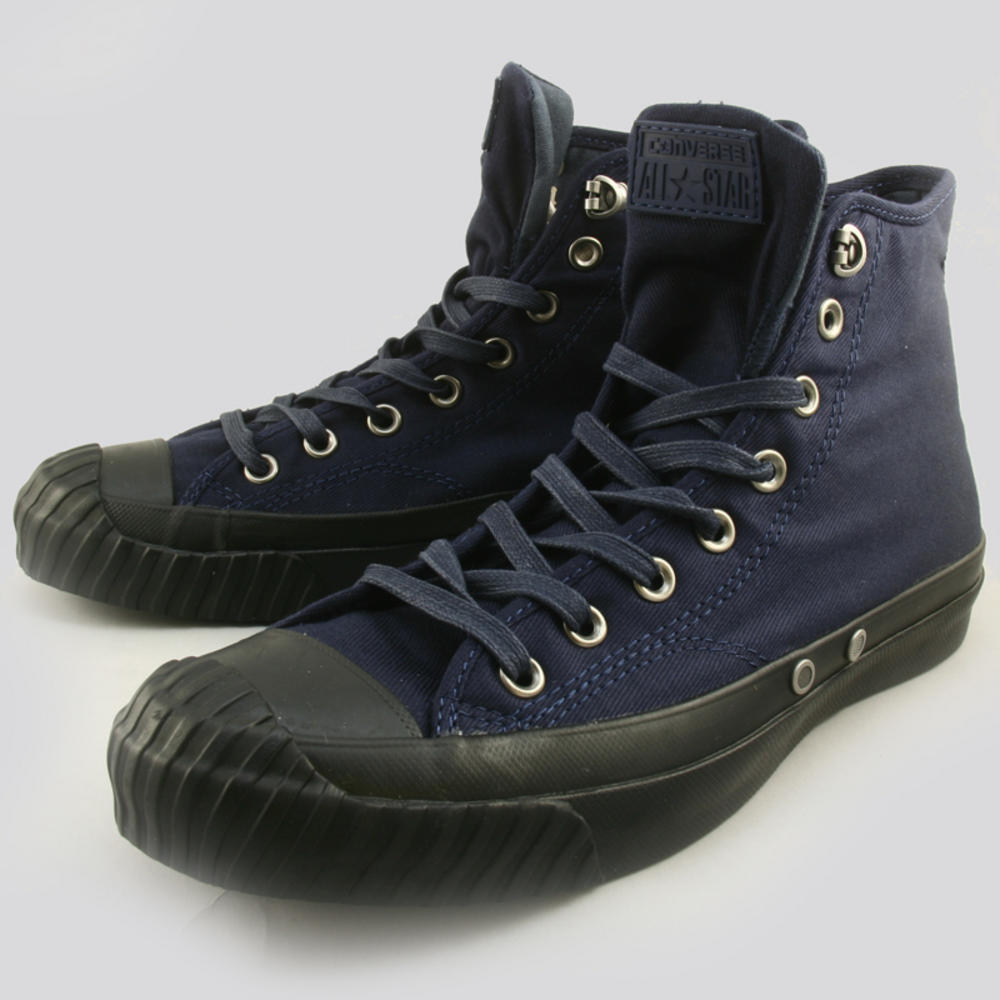 df288a862be5a6 Converse Chuck Taylor All Stars Bosey Winter Weight Textile Trainers Navy  Blue 1