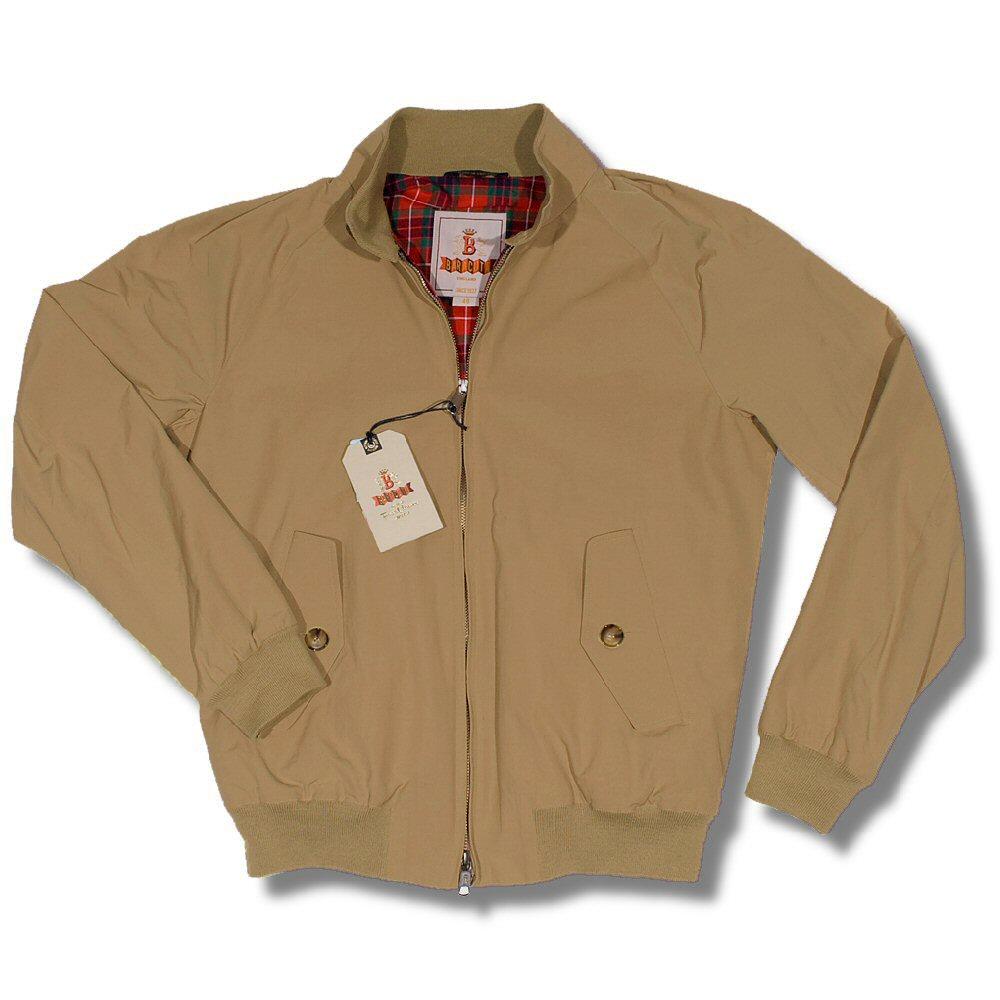 The All New Baracuta G9 Mod Slim Fit Harrington Jacket Dark Beige 44  Thumbnail 1 ... 35f58e0b9e