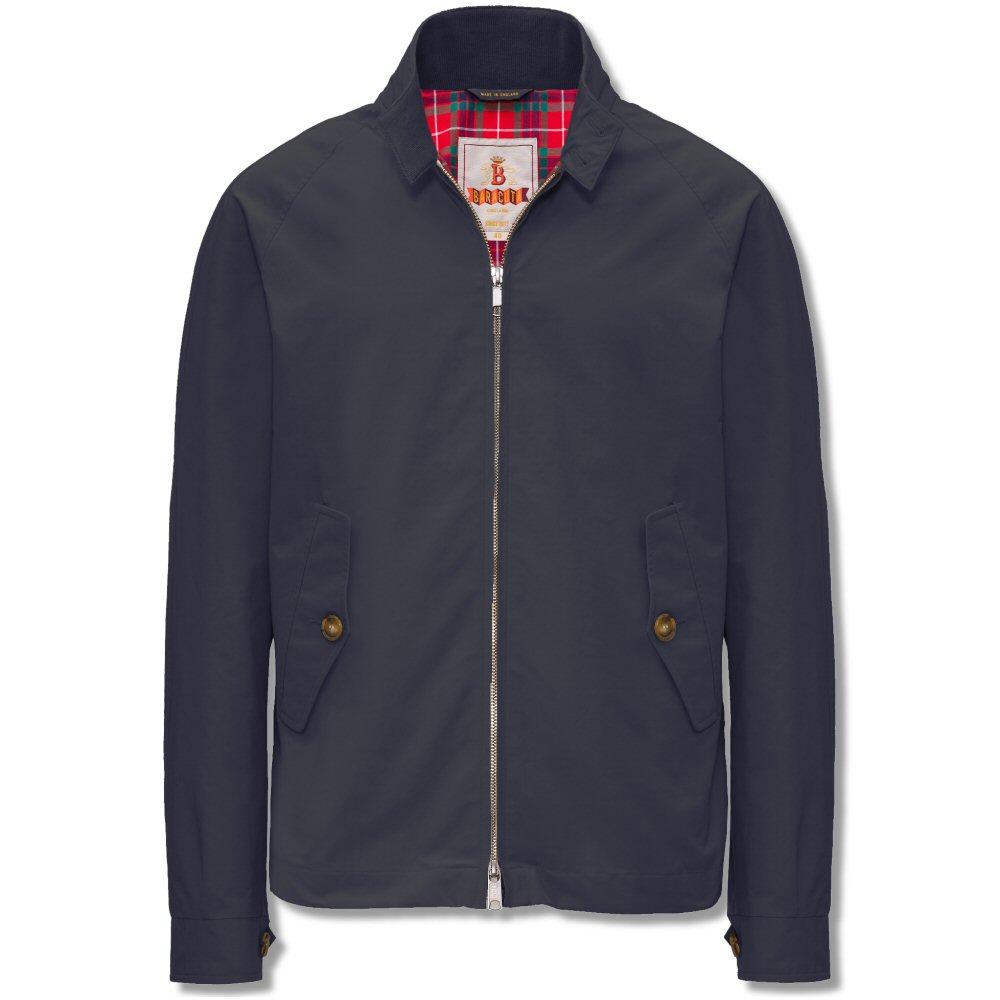 the all new baracuta g4 mod slim fit harrington jacket navy adaptor clothing. Black Bedroom Furniture Sets. Home Design Ideas