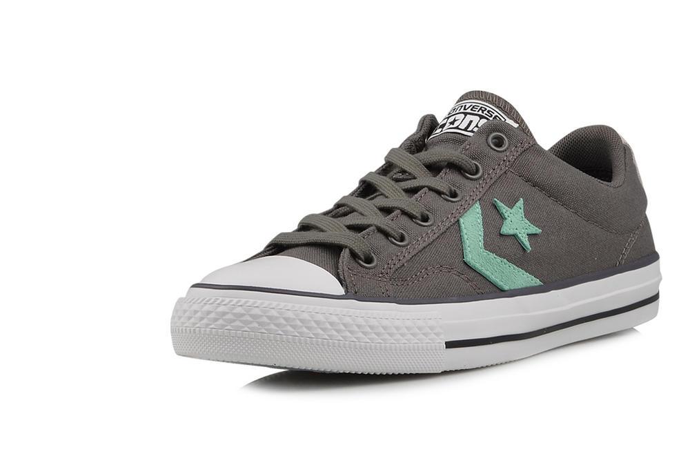 999240f51c1e Green 6  Converse Chevron   Star Lo Ox Canvas Grey   Green 6 ...