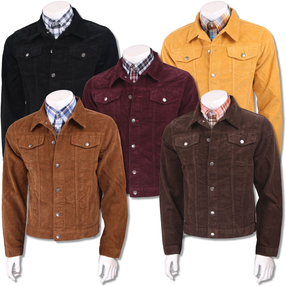 68588ff884929 Run and Fly Mod Retro 60's Indie Western Jacket Cord Corduroy