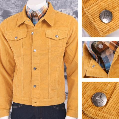 Run and Fly Mod Retro 60's Indie Western Jacket Cord Corduroy Thumbnail 4
