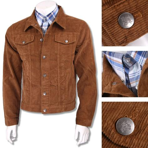 Run and Fly Mod Retro 60's Indie Western Jacket Cord Corduroy Thumbnail 2