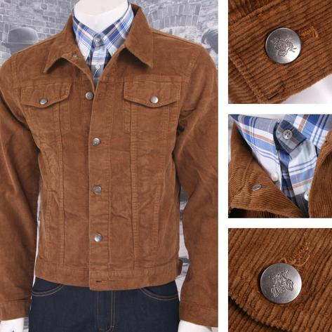 Run and Fly Mod Retro 60's Indie Western Jacket Cord Corduroy Thumbnail 6