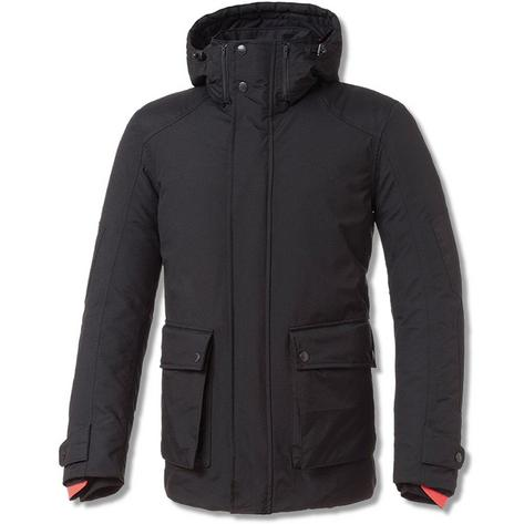Tucano Urbano Park Hooded All Weather Scooter Parka Jacket Black Thumbnail 1