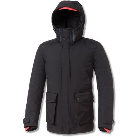 Tucano Urbano Park Hooded All Weather Scooter Parka Jacket Black Thumbnail 2
