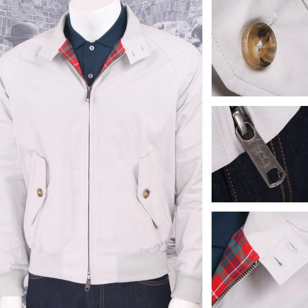 0597148cd773f The All New Baracuta G9 Mod SLIM Fit Harrington Jacket McQueen Stone  Thumbnail 1 ...
