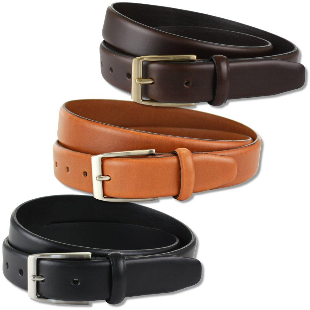 British Belt Company Made in England Premium Quality 3cm Italian Leather Belt
