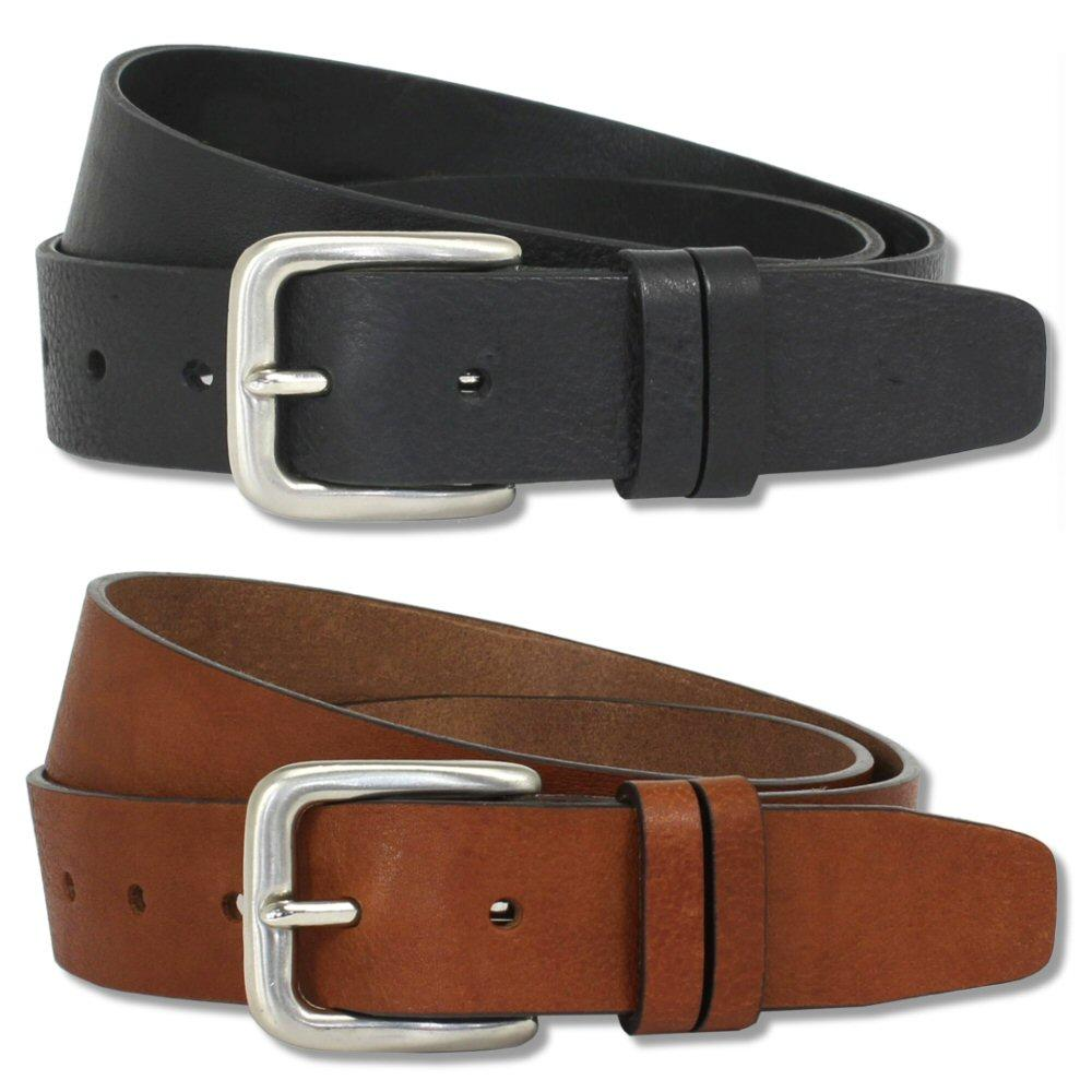 British Belt Company Made in England Premium Quality 3.5cm Italian Leather Belt