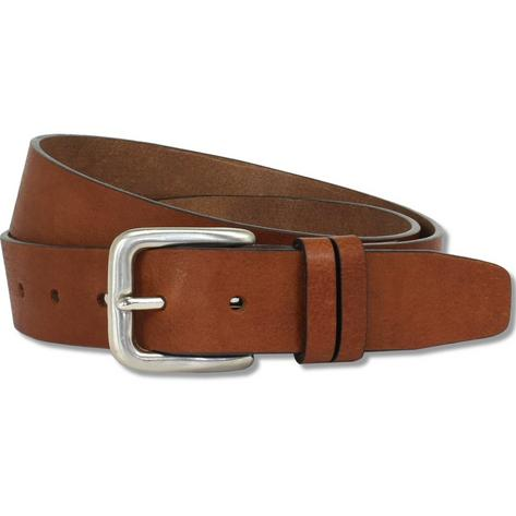 British Belt Company Made in England Premium Quality 3.5cm Italian Leather Belt Thumbnail 2