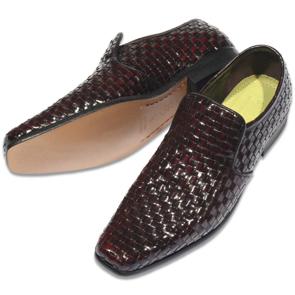delicious junction mod 60 39 s retro slip on real basket weave shoe burgundy adaptor clothing. Black Bedroom Furniture Sets. Home Design Ideas