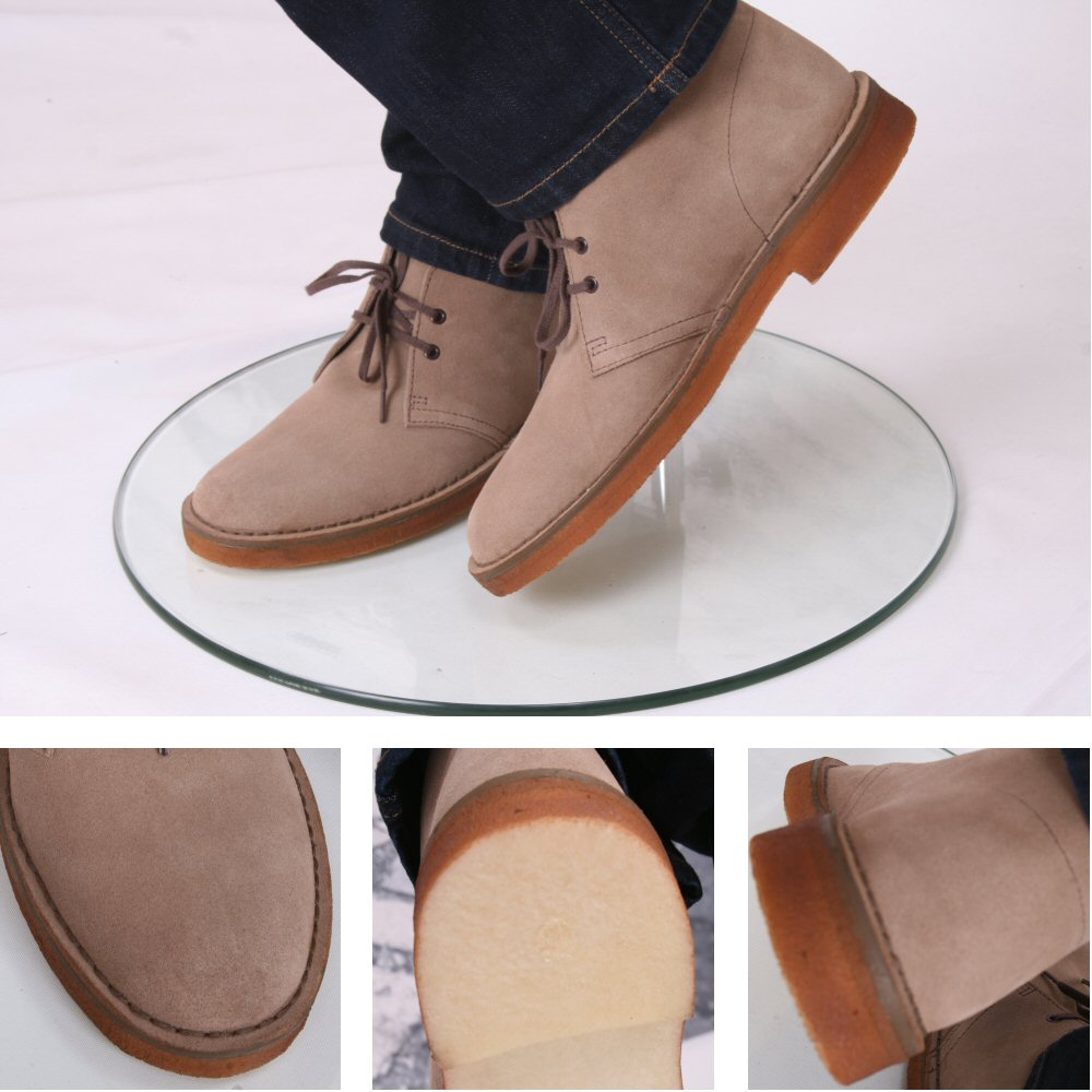 clarks originals classic 2 hole real crepe sole desert boots beige adaptor clothing. Black Bedroom Furniture Sets. Home Design Ideas