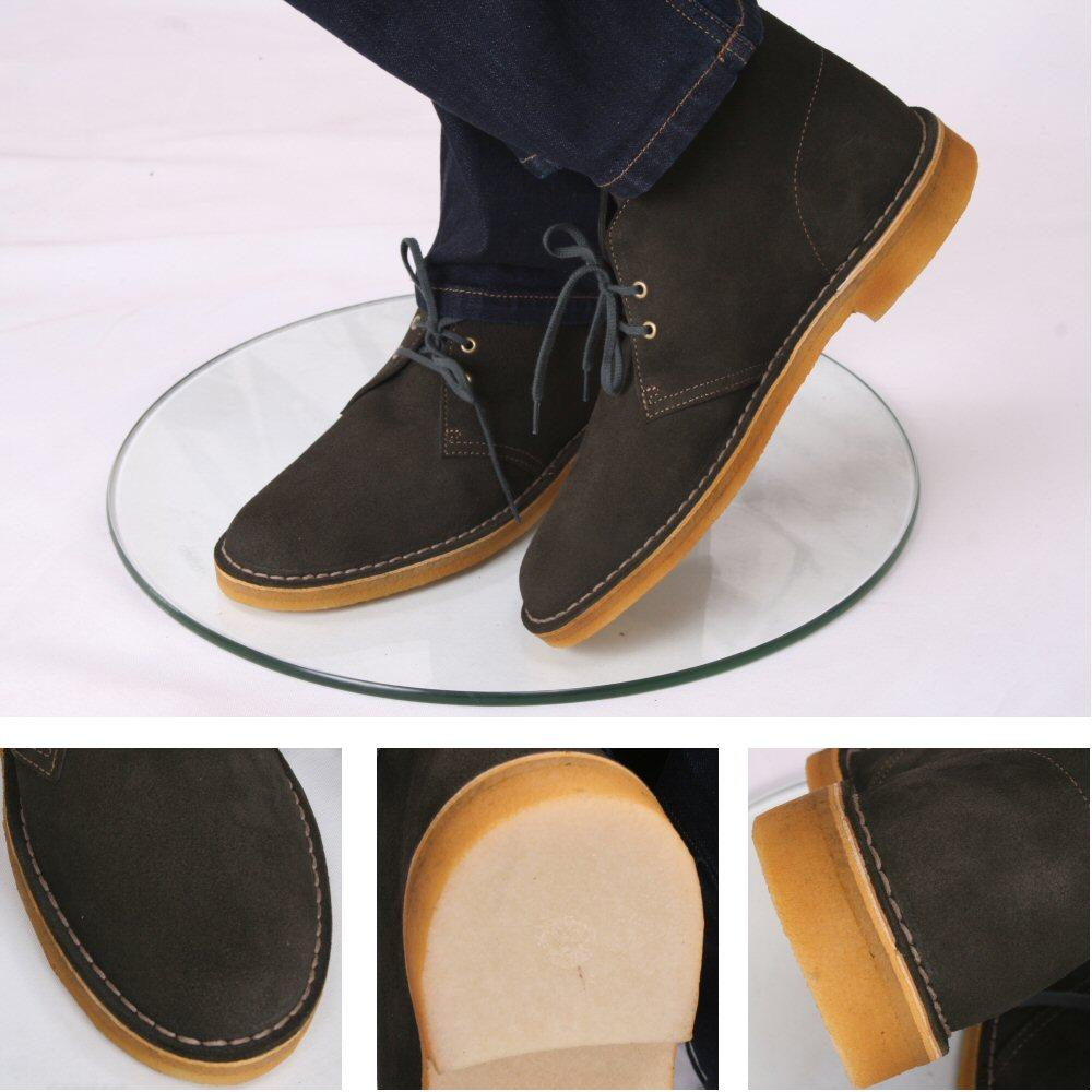 how to clean crepe sole clarks