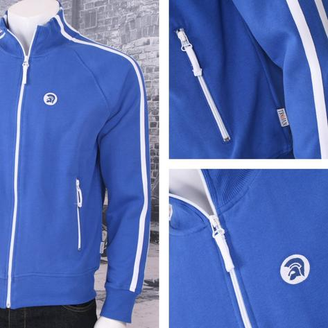 Trojan Records Limited Edition Retro Sports Twin Stripe Zip Thru Track Top (3 Co Thumbnail 4