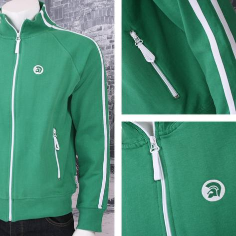 Trojan Records Limited Edition Retro Sports Twin Stripe Zip Thru Track Top (3 Co Thumbnail 2