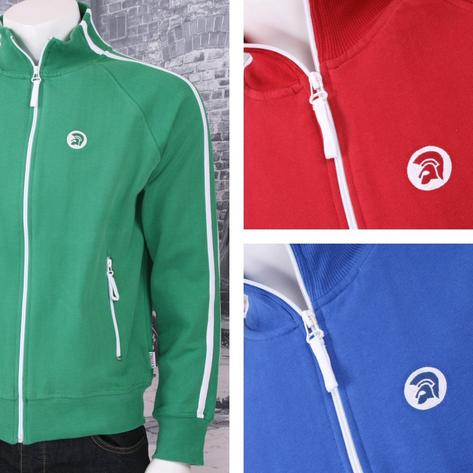 Trojan Records Limited Edition Retro Sports Twin Stripe Zip Thru Track Top (3 Co Thumbnail 3
