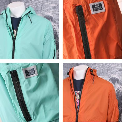 Weekend Offender Lightweight Zip Up Hooded Jacket (2 Colours) Thumbnail 2