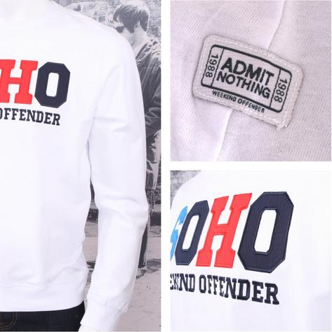 Weekend Offender Long Sleeve SOHO Print Sweatshirt (2 Colours) Thumbnail 2