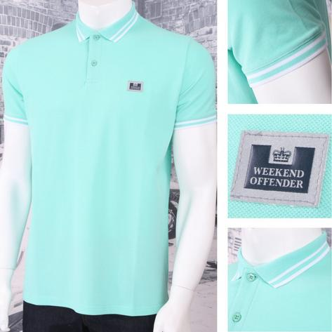 Weekend Offender Classic Style Short Sleeve Polo (4 Colours) Thumbnail 2