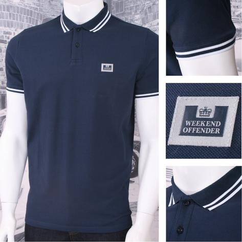Weekend Offender Classic Style Short Sleeve Polo (4 Colours) Thumbnail 4