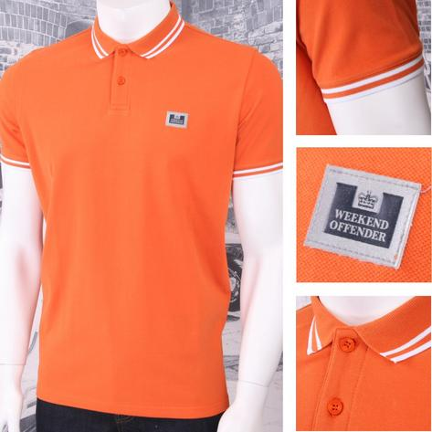 Weekend Offender Classic Style Short Sleeve Polo (4 Colours) Thumbnail 3