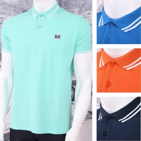 Weekend Offender Classic Style Short Sleeve Polo (4 Colours) Thumbnail 5