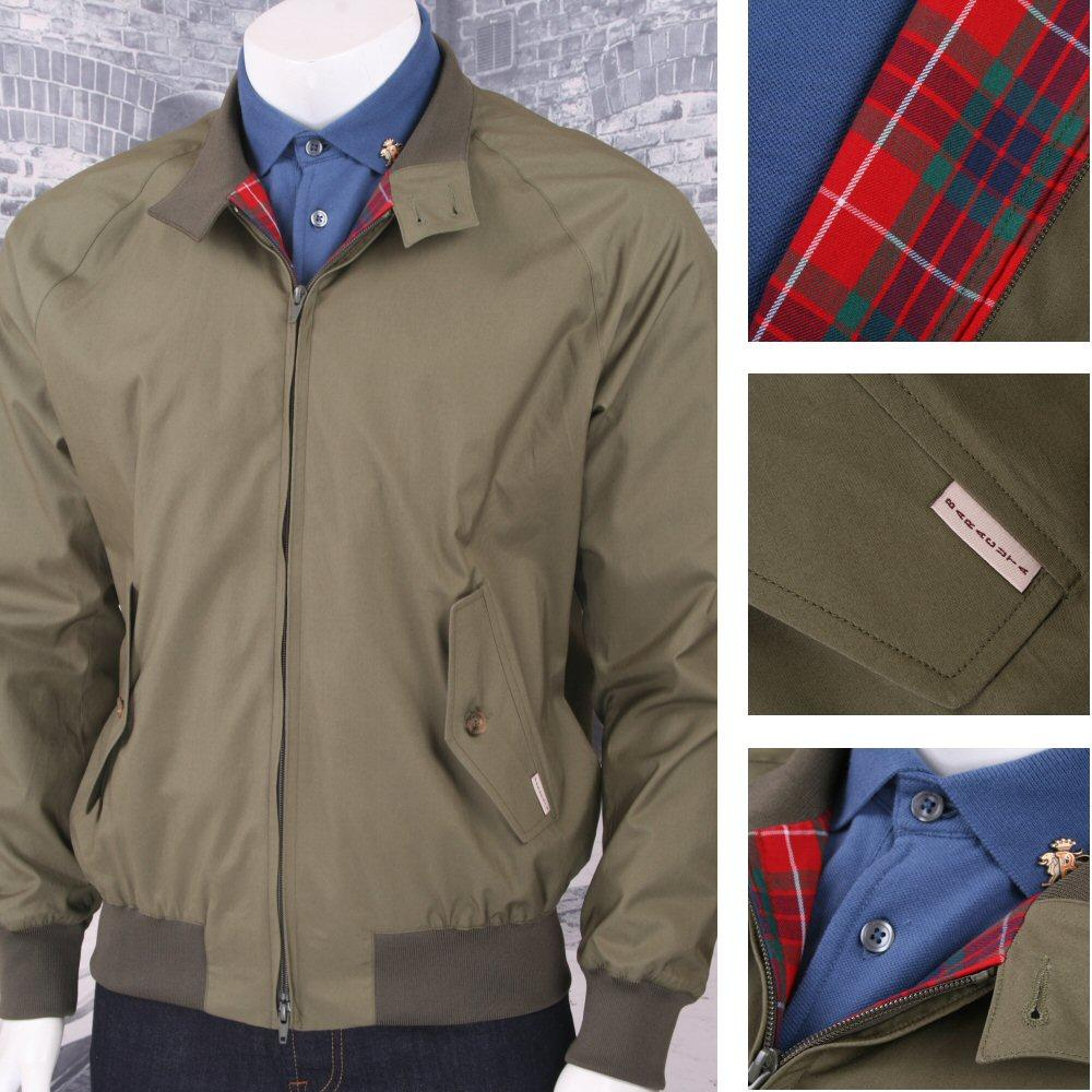 The All New Baracuta Archive G9 Made In England Harrington Jacket Khaki Green