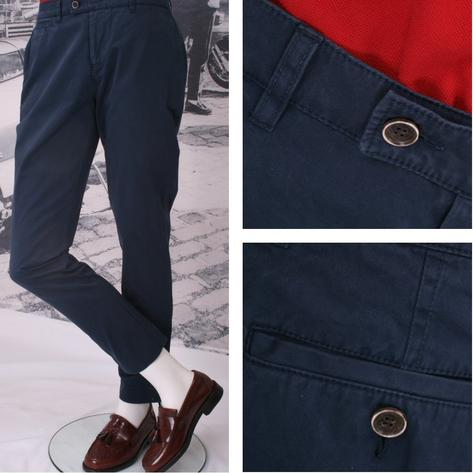 Gibson Cotton Chino Trousers Thumbnail 2