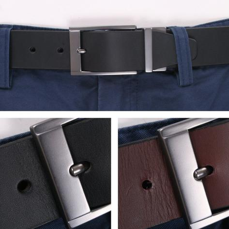 British Belt Company Made in England Premium Quality Reversible Italian Leather Thumbnail 1
