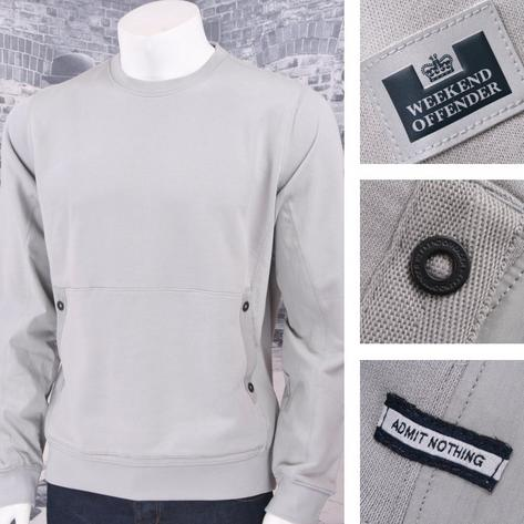 Weekend Offender 100% Cotton Crew Neck Front Pocket Fleece Thumbnail 3