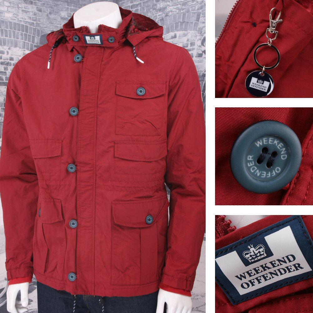 Weekend Offender Classic Style Hooded Terrace Jacket