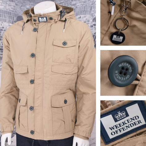 Weekend Offender Classic Style Hooded Terrace Jacket Thumbnail 2