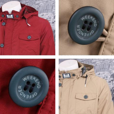 Weekend Offender Classic Style Hooded Terrace Jacket Thumbnail 3
