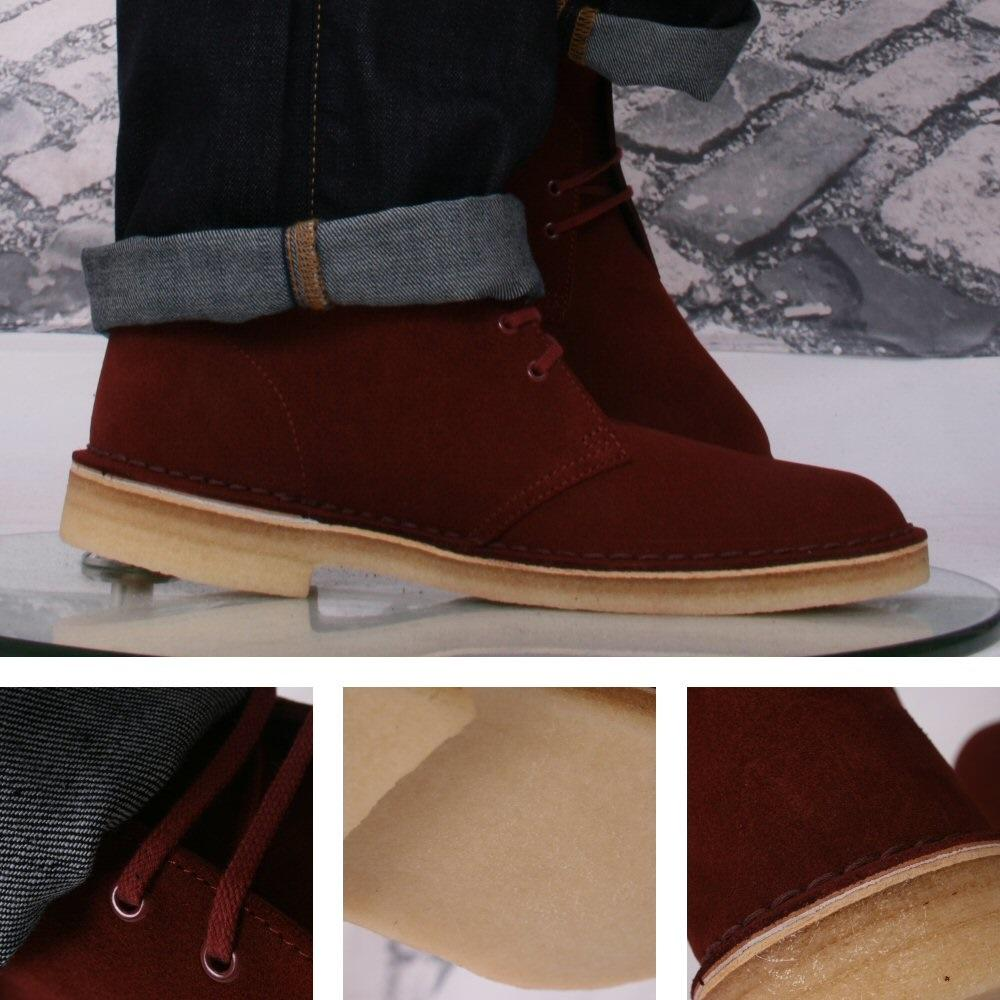 5879c7ed29b737 Clarks Originals Classic 2 Hole Real Crepe Sole Desert Boots Nut Brown  Suede | Adaptor Clothing