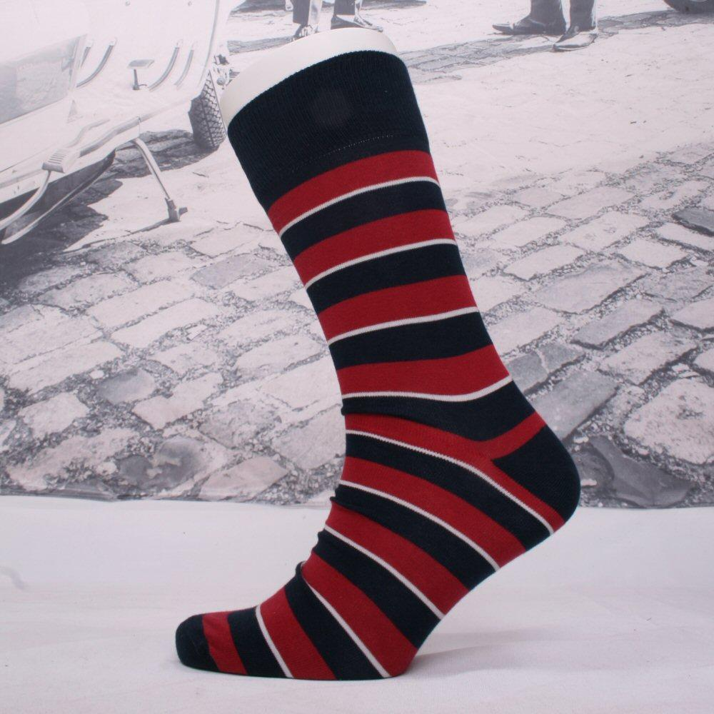 Corgi Queens Dragoons Guards Lightweight Help For Heroes Stripe Socks Red