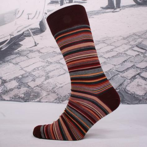 Corgi Fine Gauge Lightweight Fine Stripe Socks Thumbnail 2