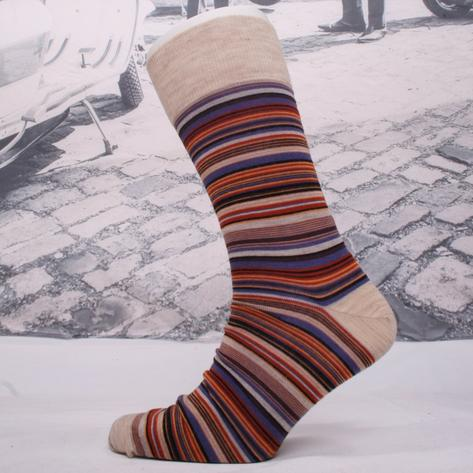 Corgi Fine Gauge Lightweight Fine Stripe Socks Thumbnail 3