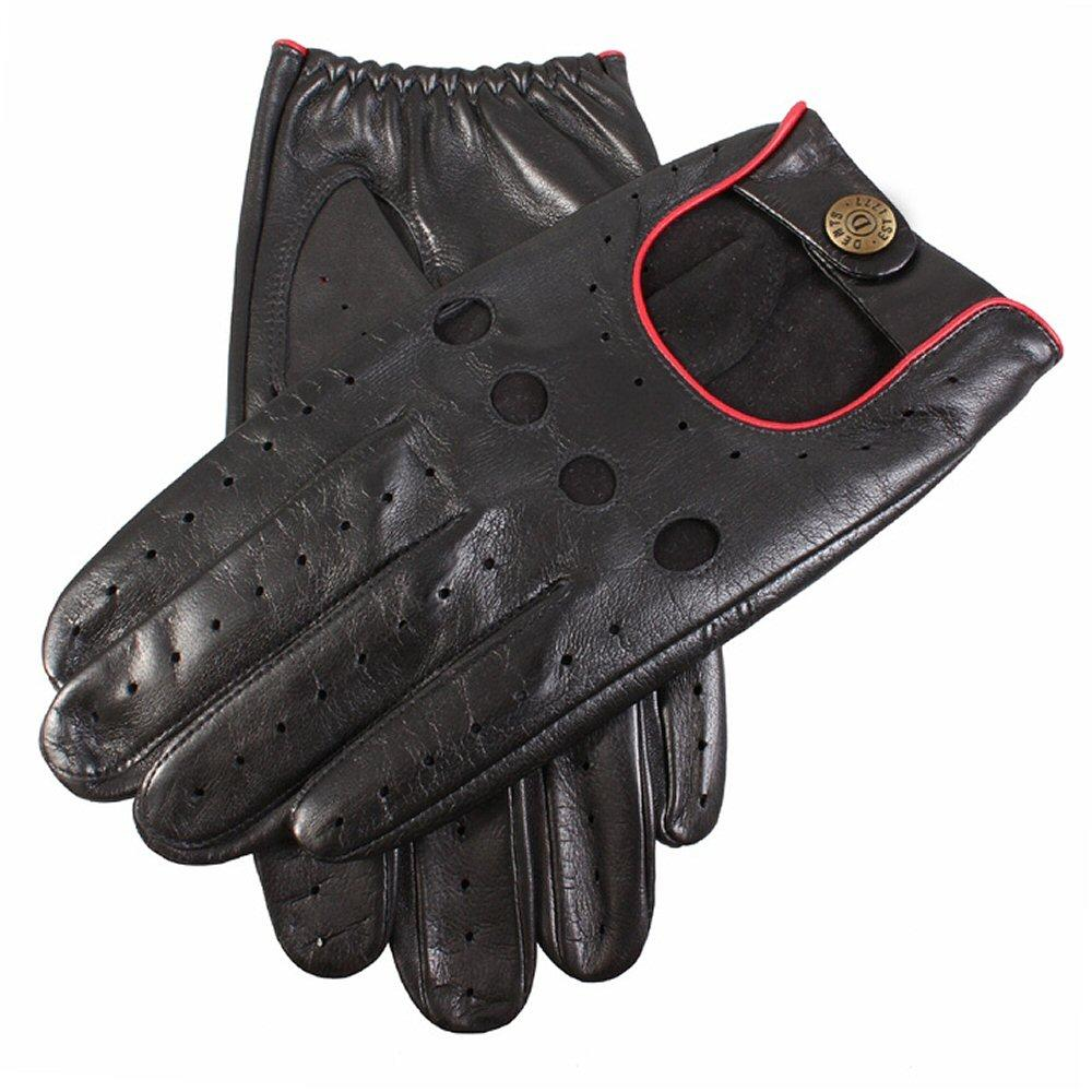 Dents Hairsheep Leather Classic Style Driving Gloves Black