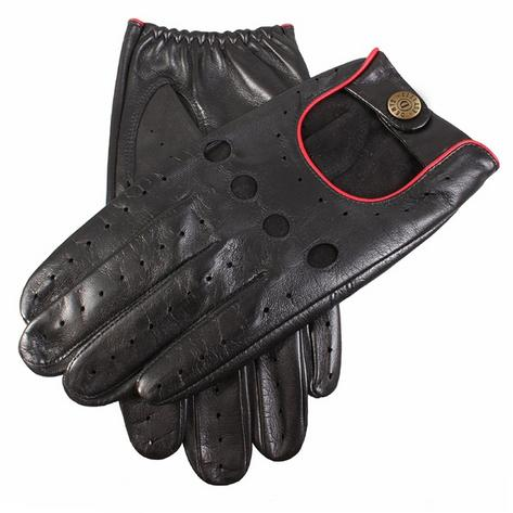 Dents Hairsheep Leather Classic Style Driving Gloves Black Thumbnail 1