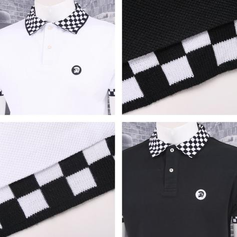 Trojan Records Limited Edition Skin Mod Checkerboard Collar Pique Polo Shirt Thumbnail 1